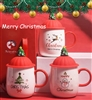 Ornamental Christmas Coffee Mugs