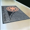 Indoor and Outdoor Rubber Backing Logo Mat 4x6FT