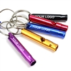 Aluminum Alloy Whistle Keyring