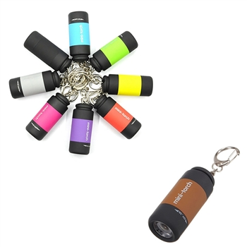 Rechargeable Flashlight Keychain