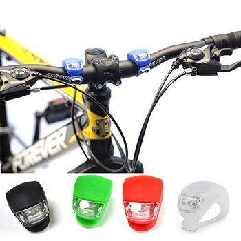 Front and Back LED Bike Light