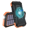 Solar Powered Wireless Charging Power Bank