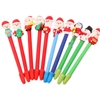 Novelty Christmas Polymer Clay Pen