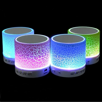 Mini Wireless Bluetooth Speaker with LED Lights