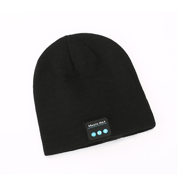 Bluetooth Headset Knit Beanie