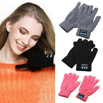 Bluetooth Knit Gloves