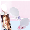 Mini Clip on Selfie Ring Light with USB