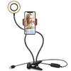 Adjustable LED Ring Light for a Cellphone