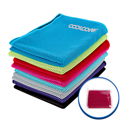 Cooling Towel - One Color Imprint - Bag