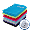 Cooling Towel - One Color Imprint - Silicone Case
