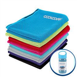 Cooling Towel - One Color Imprint - Bottle