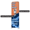 Double Sided Wave Sanitizer Display Stand