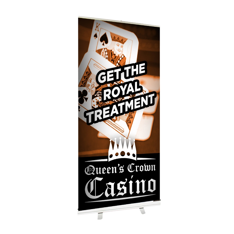"Economy Retractable Banner Stand 36"" x 78"""