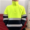 Hi-Vis Zipped Sweatshirt