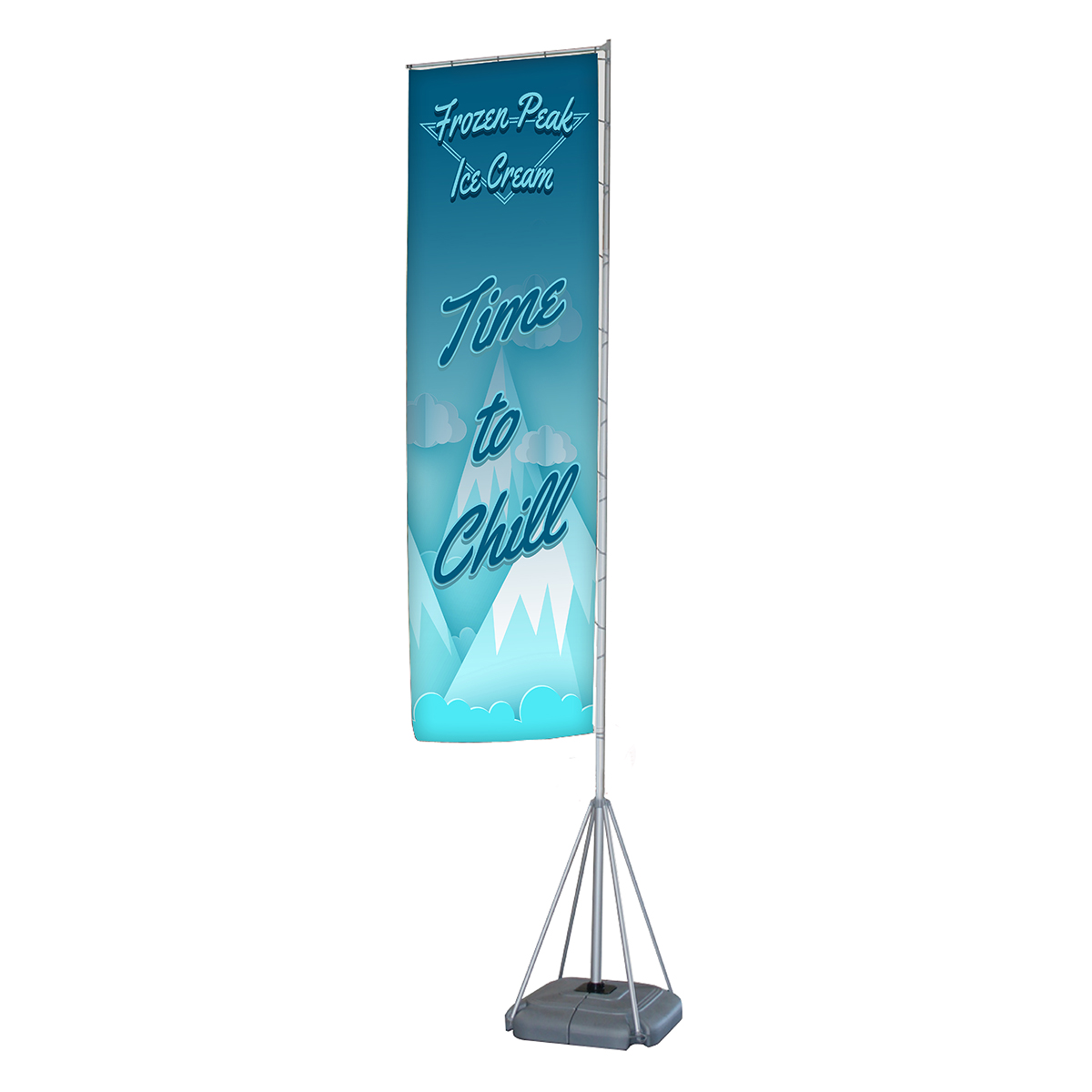 Double Sided Jumbo Flag - Medium