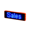 LED Name Tag - Blue