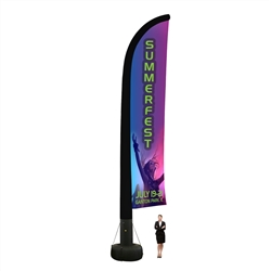 Outdoor Inflatable Flag-Single Side-33FT