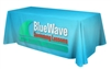 Satin 6ft Table Throw - Full Color - 4 Sided