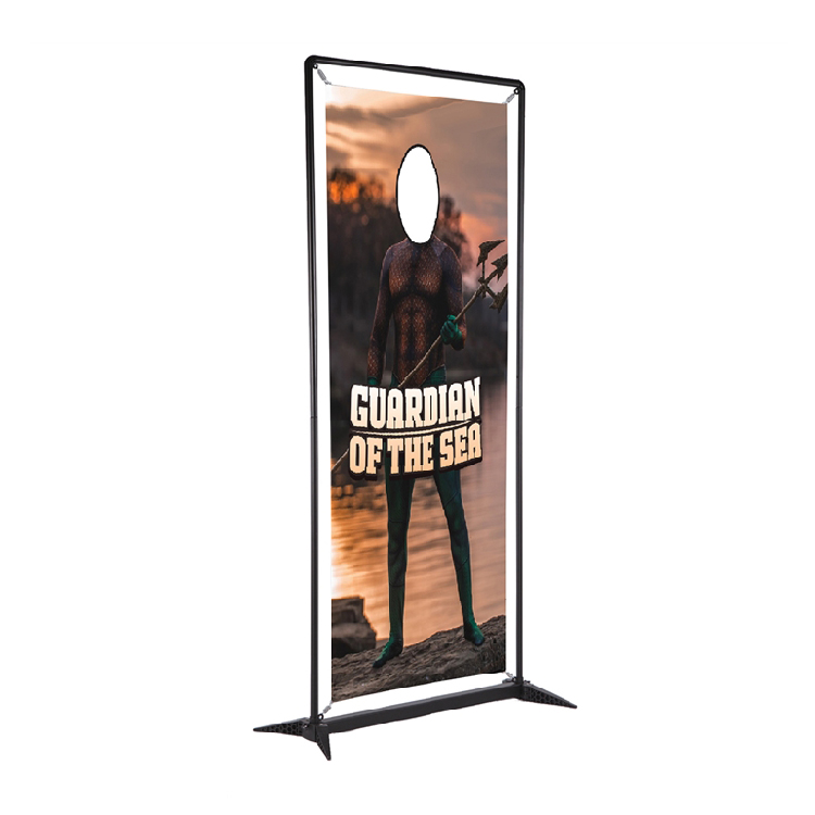 3ft SmartFit Display Banner - Single Face Cutout