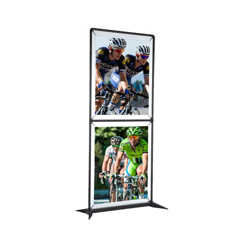 3.5ft SmartFit Dual Display Banner - Single Sided