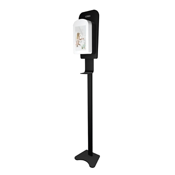 "10"" LED Screen Sanitizer Dispenser Stand"