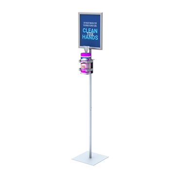 Hand Wipe Display Stand