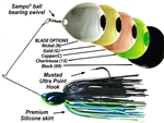 Picasso Spinnerbaits Night Time Thumper Dbl Co