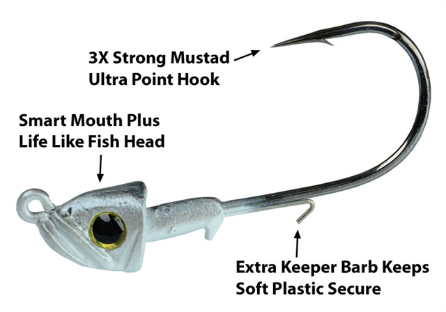 Smart Mouth Plus Fish Head Jig