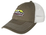 Picasso Mesh Hats Olive/White
