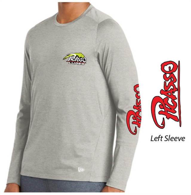 Performance New Era Long Sleeve - Rainstorm Grey
