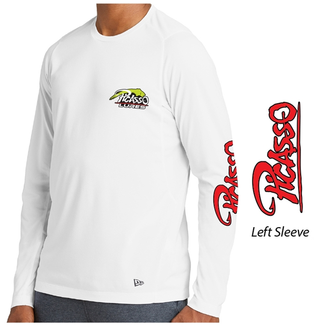 Performance New Era Long Sleeve - White