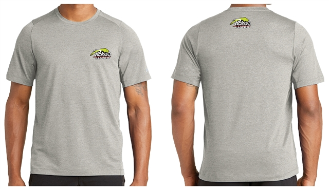 Performance New Era Short Sleeve - Rainstorm Grey
