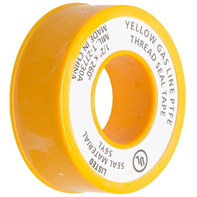 Heavy Duty Gas Line Teflon Tape - 1/2