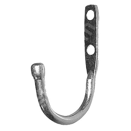 "2-5/8"" Locker Hook - Zinc Plated Steel"
