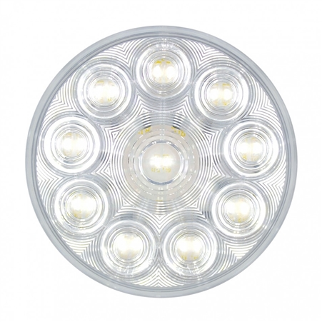 "4"" Round LED Backup Light - Competition Series - White"
