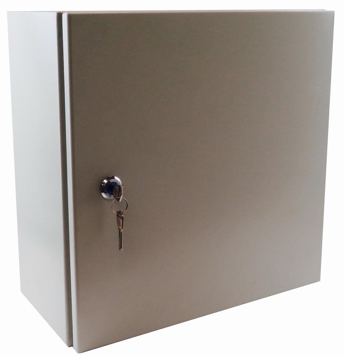 YuCo YC-12x12x6-UL-FE Electrical Box IP66 Nema Type 4 Enclosure Fully Enclosed