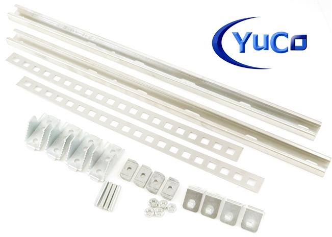 "YuCo YC-20X12X6-UL-FE-EL-2-KF Nema Type 4 Enclosure with Lock /& Key 20/"" 12/"" 6/"""