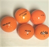 100 AAA Orange Colored Used Golf Balls