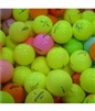 100 Colored Practice Grade Used Golf Balls