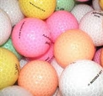 50 AA Crystal / Clear Cover Used Golf Balls. ON CLEARANCE!!
