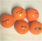AAA Orange Colored Used Golf Balls