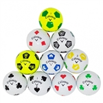 AAA Callaway Chrome Soft Truvis Color Mix Soccer (doz.)