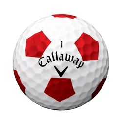 AAA Callaway Chrome Soft Truvis Red and White Soccer (doz.)
