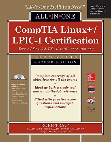 LPIC-1/CompTIA Linux+ Certification All-in-One Exam Guide Exams LPIC ...