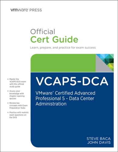 Vcap5 dca official cert guide ebook alternative views fandeluxe Gallery
