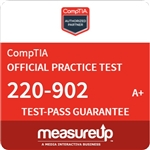 A+ Practical Application (220-902) - 180 Day Practice Test - CompTIA Authorized