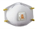 3M8511 3M Dust Mask N95 W/Breather Sanding, Grinding, Sawing, Sweeping & Insulating. 10/Bx.
