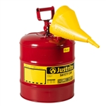 EAUI50S 5 Gallon Safety Gas Can W/Funnel