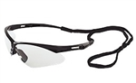 ERB15324  Black Frame/Clear Safety Glasses