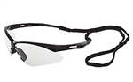 "ERB15325 Black Frame/Clear ""Anti Fog"" Safety Glasses"